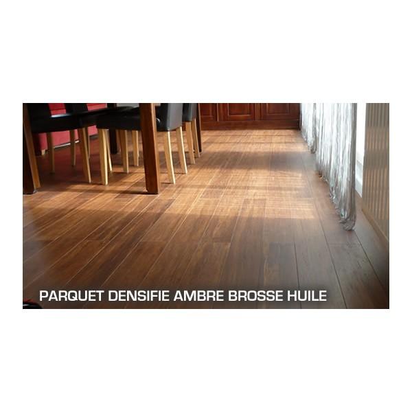 parquet compress bambou ambre huil a clipser parquet flottant. Black Bedroom Furniture Sets. Home Design Ideas